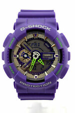 CASIO G-SHOCK GA110DN-6A Classic Analog Digital Purple Resin Band