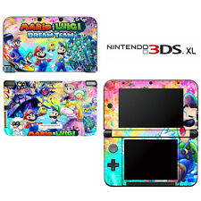 Vinyl Skin Decal Cover for Nintendo 3DS XL LL - Mario & Luigi Dream Team