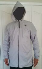 ADIDAS MAN BBall jacket, ABL WINDMILL, REFLECTIVE, LIGHT GRAY, ATTRACTIVE!!!