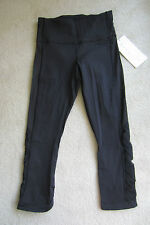 Lululemon Var-City Varcity Crop Black 4 OR  6