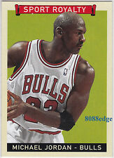 2008 UPPER DECK GOUDEY SPORT ROYALTY: MICHAEL JORDAN #300 ROOKIE OF THE YEAR '85