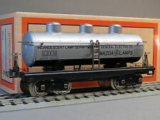 MTH LIONEL CORPORATION TINPLATE STANDARD GAUGE MAZDA LAMPS DOME OIL CAR 11-30202