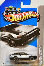 HOT WHEELS 2013 HW CITY TOYOTA AE-86 COROLLA