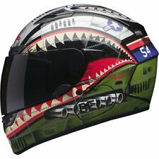 Bell Qualifier DLX Devil Full Face Street Bike Motorcycle Helmet LARGE