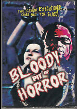 Bloody Pit of Horror Mickey Hargitay Walter Brandt Moa Tahi Alfred Rice New DVD