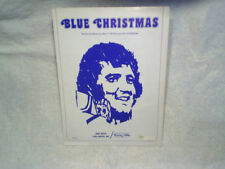 BLUE CHRISTMAS SHEET MUSIC Billy Hays and Jay Johnson bibo music,elvis presley