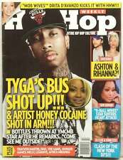 HIP HOP WEEKLY MAGAZINE TYGA DJ CLUE FUNK MASTER FLEX THE GAME RIHANNA VERY RARE