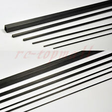 5pcs 3mm*2mm*500mm Cubic Carbon Fiber Rods for Sand-Table RC Airplane #