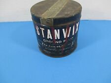 Rare Stanwix Ground Plug Tobacco Tin The Ace of Them All Falk Tobacco As Is VS9