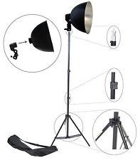 DynaSun S27Kit Studio Set Foto Video Licht mit Reflektor, Lampenfassung Stativ