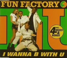 Maxi CD - Fun Factory - I Wanna B With U - #A2412