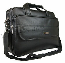 Quality Faux Leather Pilot Business Executive Briefcase Laptop Carry Luggage Bag