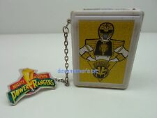 Power Rangers Mighty Morphin 1993 WHITE RANGER TOMMY BEEPER Toy Electronic Works