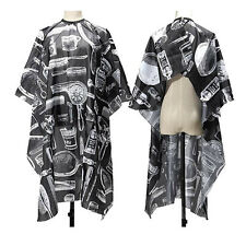 UKCutting Hair Waterproof Cloth Salon Barber Gown Cape Hairdressing Hairdresser