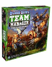 Blood Bowl Team Manager: The Card Game (Fantasy Flight Games, 2-4 Players) NEW
