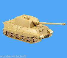 Minitanks H0 171 JAGD-TIGER Pzkw VI OVP EDW WWII Wehrmacht Panzer HO 1:87 Roco
