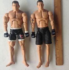 UFC action figures 2009 Zufa Jakks Pacific 2 Fighters Full Contact Assassins