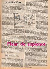 Coupure de presse Le chaudron d'enfer (fleuve Congo) René R. J. Rohr 1952