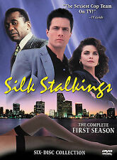 Silk Stalkings - Season 1 (DVD, 1991, 6-Disc Set) Mitzi Kapture, Rob Estes