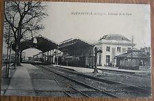 47 Marmande intérieur de la gare 1917