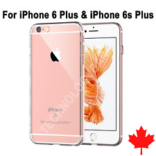 iPhone 6 Plus & iPhone 6s Plus Case Crystal Clear Soft Transparent TPU Thin Slim