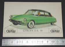 CHROMO 1950-1959 CHOCOLAT CEMOI DECOUPAGE AUTOMOBILE AUTO CITROËN D.S. 19 DS