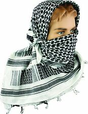 Army Shemagh Military Scarf Tactical Patrol Shermag Combat Keffiyeh White Arafat