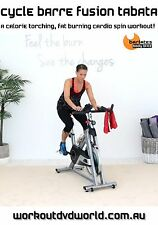 Cycle Bike Cycling EXERCISE DVD - Barlates Body Blitz CYCLE BARRE FUSION TABATA!