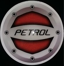 Reflective Rubberied Waterproof Red Petrol For Car Fuel Lid Car Decal sticker