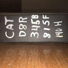 CAT 345B L Series II Excavator Service Book