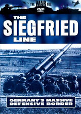 THE WAR FILE - THE SIEGFRIED LINE NEW DVD NAZI GERMANY'S MASSIVE DEFENCE BORDER