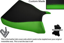 GREEN & BLACK CUSTOM FITS KAWASAKI ZXR 750  93-95 (L M) FRONT SEAT COVER
