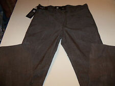42 X 34 ROCK & REPUBLIC STRAIGHT LEG NEIL CORDUROY JEANS -BROWN- NWT
