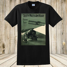 New Sixty Miles Per Hour Antique Sheet Music T-Shirt Car Train Airplane Shirt