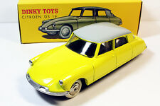 1/43 DINKY TOYS Citroen DS 19 Yellow Editions Atlas 24CP 24C