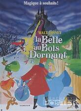 SLEEPING BEAUTY - DISNEY / PRINCESS / DRAGON - REISSUE SMALL FRENCH MOVIE POSTER