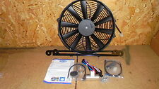 Triumph TR8 TR7 V8 *ELECTRIC COOLING FAN- REVOTEC* INC. BRACKETS TO MOUNT-SUPERB