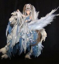 "Beautiful Custom Breyer Horse Costume- ""Wind"" As Pegasus And Princess Rider"