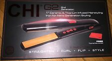 CHI FLAT IRON 2G Ceremic & Titanium Infused brand new 1""