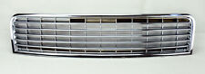 Audi A4 B6 02-05 Badgeless Style Chrome Front Hood Bumper Grill