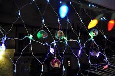 GLASS BALL FOR CHRISTMAS TREE, CHRISTMAS LIGHTING OUTDOOR DECORATIONS  Lot 3