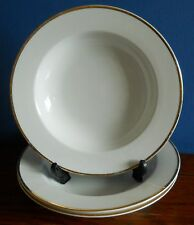 THUN PORCELAIN soup bowl with GOLD TRIM