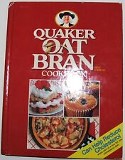 QUAKER OAT BRAN COOKBOOK  - ALL ABOUT OAT BRAN WITH RECEPIES, REDUCE CHOLESTEROL