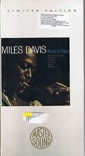Davis, Miles Kind of Blue GOLD CD Mastersound SBM NEU OVP Sealed Longbox