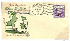 PAKISTAN BOY SCOUTS SCOTT #101 STAMP RAWAL PINDI FDC FIRST DAY COVER 1958