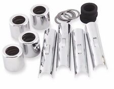 Twin Power - 19102S3 - Upper Pushrod Cover Sets, Chrome Plated~