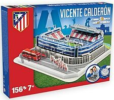 Athletico Madrid Vicente Calderon Stadium 3D jigsaw puzzle  (kog)
