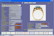 Jewellery Inventory Database Software Win7/8/10 XP Vista