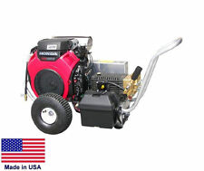 PRESSURE WASHER Coml - Portable - 5.5 GPM - 5000 PSI - GP Pump - 24 Hp Honda