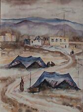 Joel Rohr (1912-98) Painting Listed ASL Polish New York Israeli Museum Artist